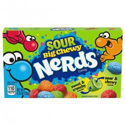 Sour Big Chewy Nerds Candy Theatre Box (4.25oz)