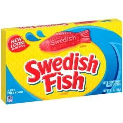 Red Swedish Fish Theatre Box Single