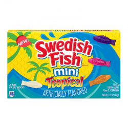 Swedish Fish Tropical Theatre Box Single