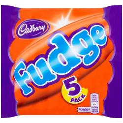 Cadbury Fudge (5 Pack)
