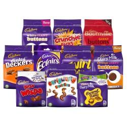 Cadbury Sharing Bags Assorted Gift Box