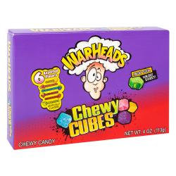 Warheads Cubes Theatre Box 113g Single