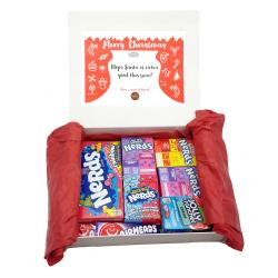American Candy Christmas Gift Hamper