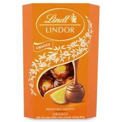 Lindor Lindt Milk Orange Truffles Cornet (200g)