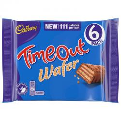 Cadbury Timeout Wafer Multipack (127.2g)